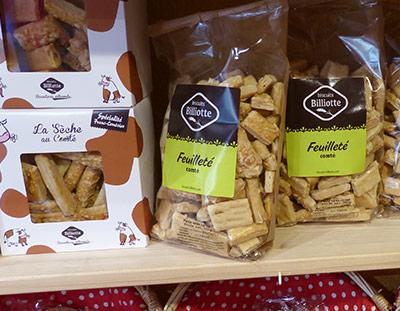 Biscuits sucrés salés
